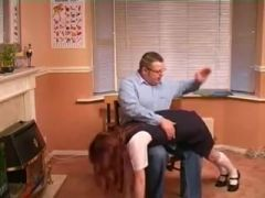 Spanked in detention