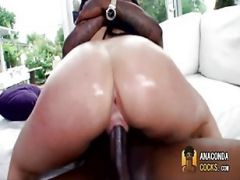 Pussy Lips Wrap Around Monster Cock