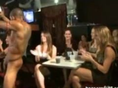 Babes Sucking Real Male Strippers