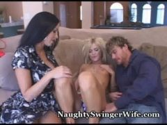 Stacked Wifey Shares Hubby With Coed