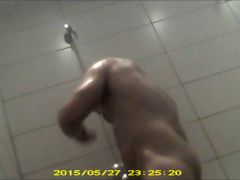 Gym Showers caught 07